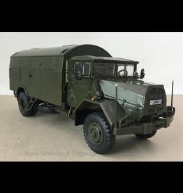 MAN MAN 630 Bundeswehr Box Truck  - 1:43 - Premium ClassiXXs