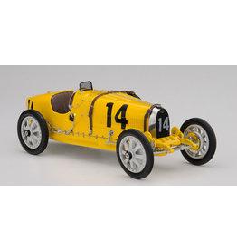 Formule 1 Bugatti Type 35 #14 National Color Project Belgium 1924 - 1:18 - CMC