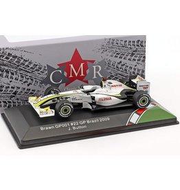 Formule 1 Brawn GP001 J. Button #22 GP Brazil 2009 - 1:43 - CMR Classic Model Replicars