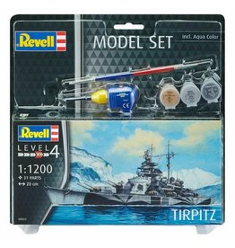 Tirpitz + Aqua Color - 1:1200 - Revell