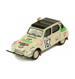 Citroen Citroen Dyane #167 Rally Paris Dakar 1979 - 1:43 - IXO Models