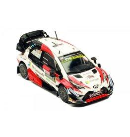 Toyota Toyota Yaris WRC #7 Toyota Gazoo Racing Microsoft WRC Winner Rally Australia 2018 - 1:43 - IXO Models