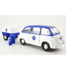 Fiat Fiat 600 Multipla + Trailer 'ARAL' - 1:18 - La Mini Miniera