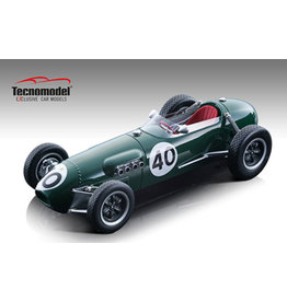 Formule 1 Lotus 12 Climax F1 #40 Team Lotus GP Belgium (Spa-Francorchamps) 1958 - 1:18 - Tecnomodel Mythos