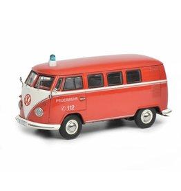Volkswagen Volkswagen T1b Bus 'Feuerwehr' - 1:43 - Schuco
