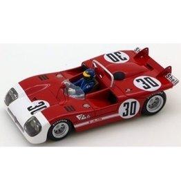 Alfa Romeo Alfa Romeo Tipo 33/3 #30 Winner 6h Watkins Glen (USA) 1972 - 1:43 - TrueScale Miniatures