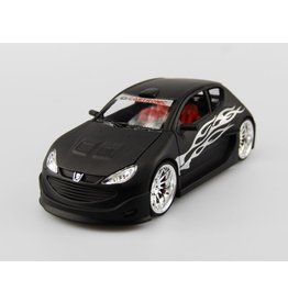 Peugeot Peugeot 206 Tuning - 1:24 - Welly