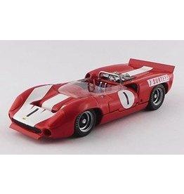 Lola Lola T70 MKII Spider #1 Winner Brands Hatch Guard Trophy (UK) 1966 - 1:43 - Best Model