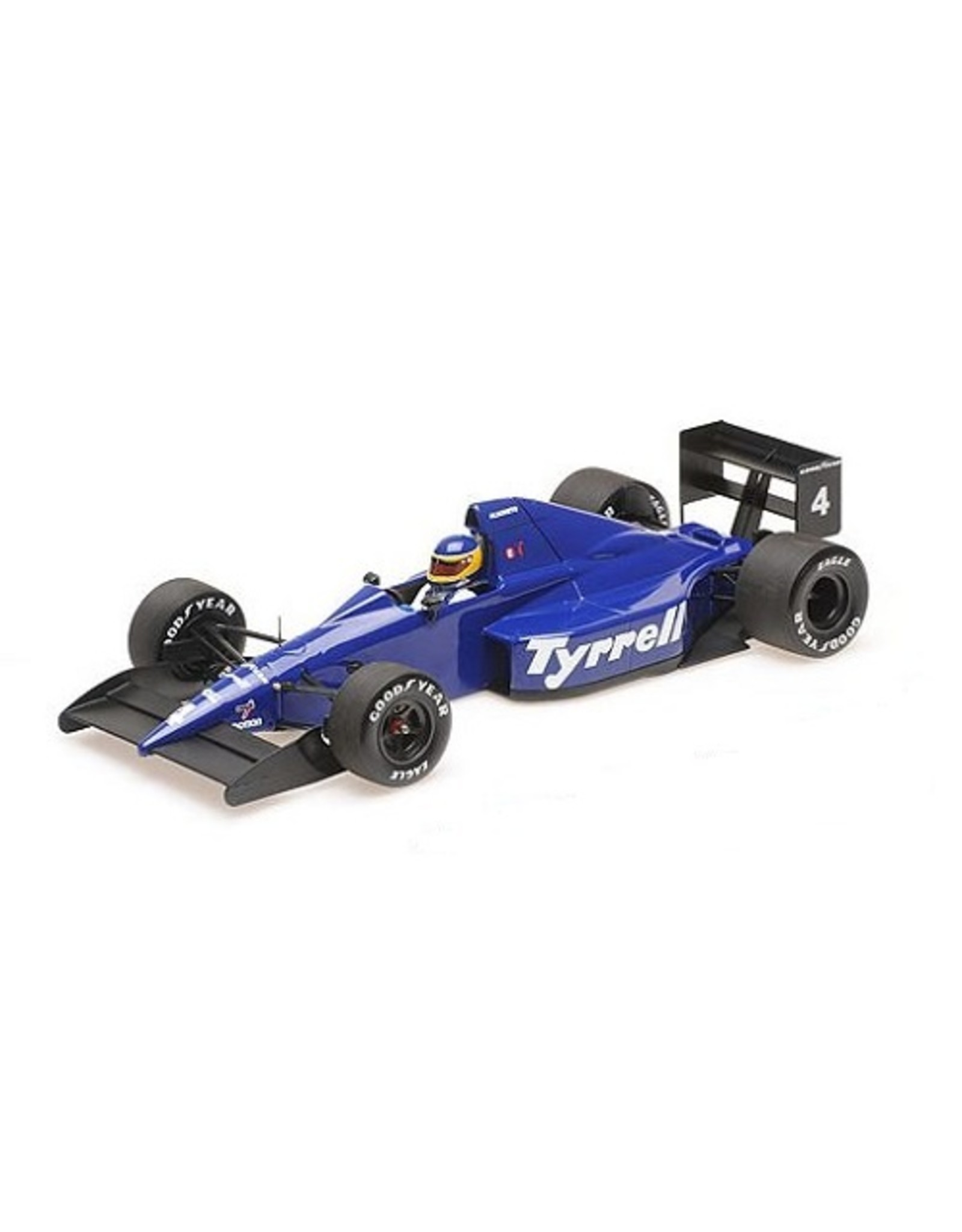 Formule 1 Tyrrell Ford 018 #4 3rd Place Mexican GP 1989 - 1:18 - Minichamps