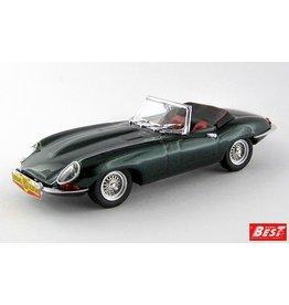 Jaguar Jaguar E-Type Spider 1961 Personal Car Adriano Celentano Cantagiro 1962 - 1:43 - Best Model