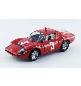 Abarth Abarth OT1300 Coupe #3 Winner Hockenheim (Germany) 1967 - 1:43 - Best Model