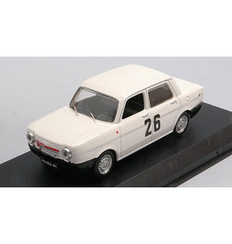 Simca Simca 1000 Abarth 4-Door #26 Winner Rally Colli di Pistoa (Italy) 1967 - 1:43 - Best Model