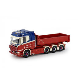 Scania Scania NGS R-Serie Normal Cab Rigid Truck 8x2 + Removable Container 'Kalsereds' - 1:50 - Tekno