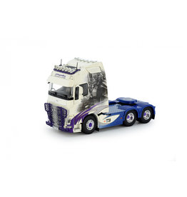 Volvo Volvo FH 04 Globetrotter XL Tractor 6x4 'Kinghs Transport' - 1:50 - Tekno