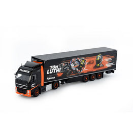 Volvo Volvo FH03 Globetrotter 4x2 + Reefer Semitrailer 3 Axle 'Planzer Tom Luthi' - 1:50 - Tekno