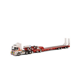 Mercedes-Benz Mercedes-Benz Actros MP3 LH 6x4 + Dolly 2 Axle + Swinging Trailer 4 Axle 'Mammoet' - 1:50 - Drake