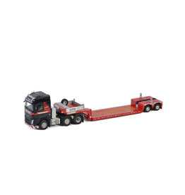 Volvo Volvo FH4 Globetrotter 6x2 Twin Steer + Extendable Low Loader 2 Axle 'Mammoet' - 1:50 - WSI Models