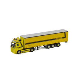 Volvo Volvo FH2 Globetrotter XL 4x2 + Curtainside Semitrailer Tridec 3 axle 'Haukes'  - 1:50 - WSI Models