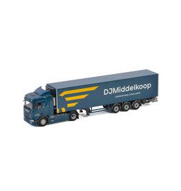 Scania Scania R Normal CR20N 4x2 +Reefer Semitrailer  3 Axle 'DJMiddelkoop' - 1: 50 - WSI Models