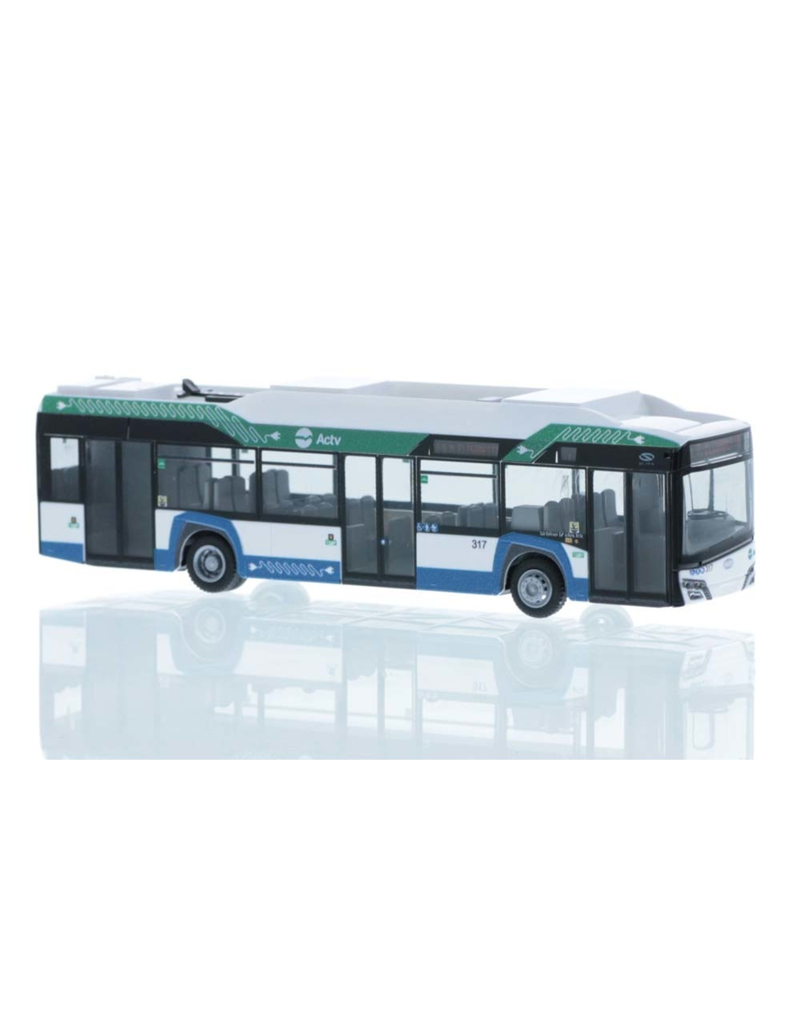 Solaris Solaris Urbino 12 Electric ACTV (Italy) 2019 - 1:87 - Rietze Automodelle