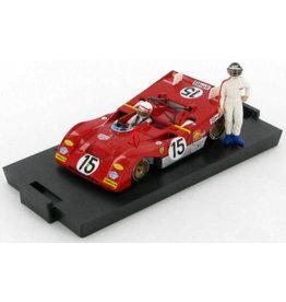 Ferrari Ferrari 312 PB 1000Km Monza + 2 Piloti 1971 - 1:43 - Brumm
