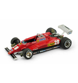Formule 1 Ferrari 126C2 turbo #28 G.P. Italia 1982 - 1:43 - Brumm
