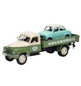 """Hanomag Hanomag L28 """"Goggomobil Service"""" - 1:43 - Schuco"""
