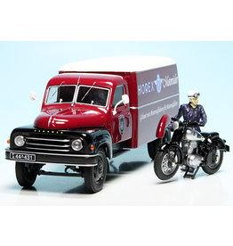 """Hanomag Hanomag L28 Kasten / Box Van """"Horex"""" - 1:43 - Schuco"""