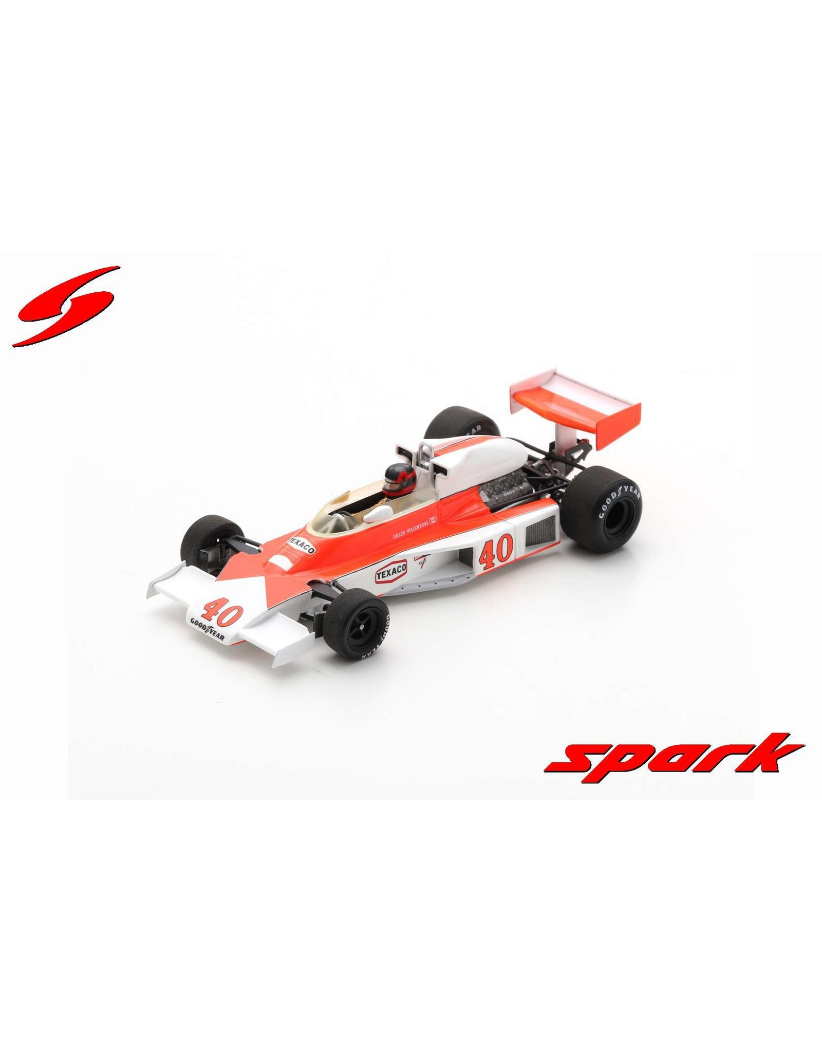 Formule 1 Formule 1 Mc Laren M23 #40 GP UK 1977 - 1:43 - Spark