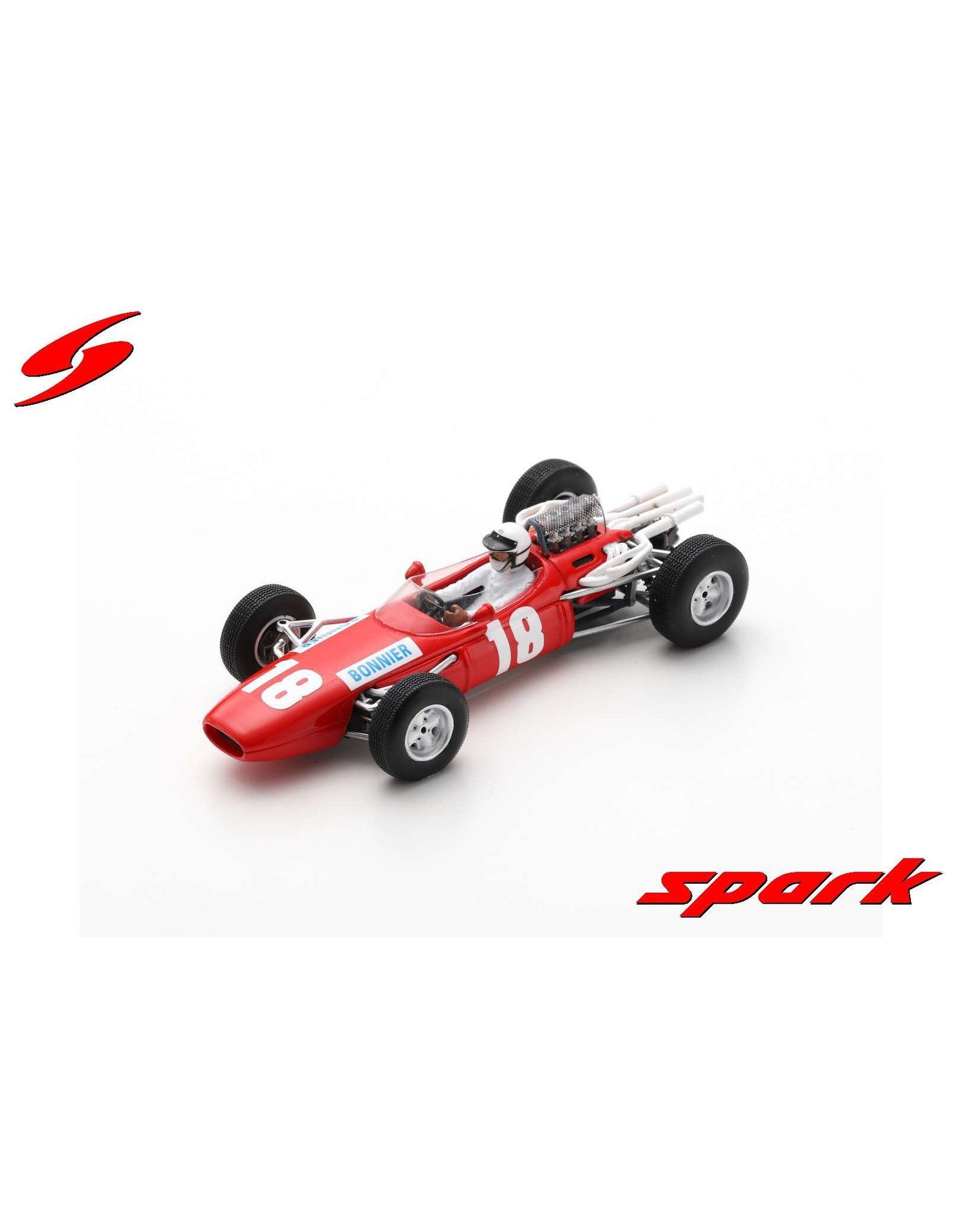 Formule 1 Formule 1 Brabham BT7 #18 GP United Kingdom 1966 - 1:43 - Spark