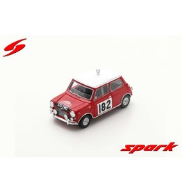 Morris Morris Cooper S #182 4th Rally Monte Carlo 1964 - 1:43 - Spark