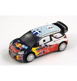 Citroen Citroen DS3 WRC #2 Winner Rally Acropolis (Greece) 2011 - 1:43 - Spark