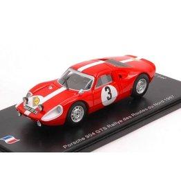 Porsche Porsche 904 GTS #3 Rally Routes Du Nord (France) 1967 - 1:43 - Spark