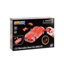 Mercedes-Benz 3D Puzzel Mercedes-Benz SLS AMG GT - 1:32 - Happy Well