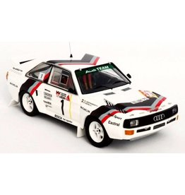 Audi Audi Sport Quattro #1 Audi Team Rally DM 3 Städte Rally (Germany) 'Start Version' 1984 - 1:43 - Troféu
