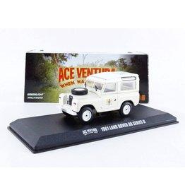 Movie Memorabilia Land Rover 88 Series II 1961 'Ace Ventura: When Nature Calls' - 1:43 - Greenlight