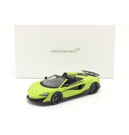 McLaren McLaren 600LT Spider + Showcase - 1:18 - Spark