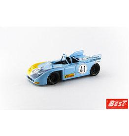 Porsche Porsche 908/03 #41 2nd Nürburgring Interserie 1972 - 1:43 - Best Model