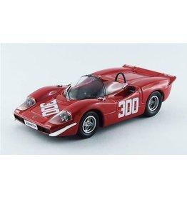 Abarth Abarth 2000 S #300 Winner Bolzano-Mendola Hillclimb (Italy) 1969 - 1:43 - Best Model