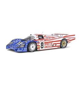 Porsche Porsche 956LH #8 24H Le Mans 1986 - 1:18 - Solido