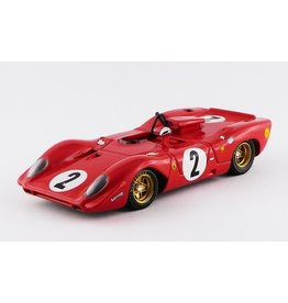 Ferrari Ferrari 312P Spider #2 Monza (Italy) 1969 - 1:43 - Best Model