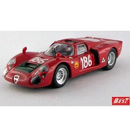 Alfa Romeo Alfa Romeo 33.2 Spider #186 Targa Florio (Sicily) 1968 - 1:43 - Best Model