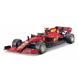 Formule 1 Ferrari F1 SF1000 #16 Team Scuderia Mission Winnow GP Austria 2020 Leclerc + Showcase - 1:43 - Bburago