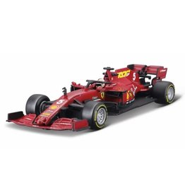 Formule 1 Ferrari F1 SF1000 #5 Team Scuderia Mission Winnow GP Austria 2020 Vettel + Showcase - 1:43 - Bburago