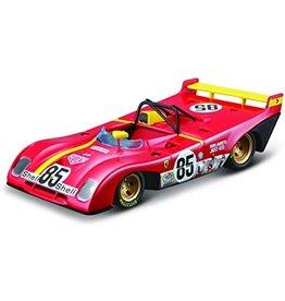 Ferrari Ferrari 312PB #85 Winner 6H Watkins Glen (USA) 1972 + Showcase - 1:43 - Bburago