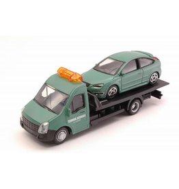Iveco Iveco Daily Car Transporter Road Service + Ford England Focus 2011 - 1:43 - Bburago