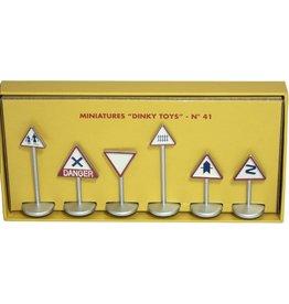 Dinky Toys (Editions Atlas) Panneaux de Signalisation - 1:43 - Atlas