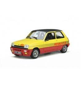 Renault Renault  5 TS Monte Carlo 1978 - 1:18 - Otto Mobile Models