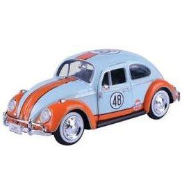 Volkswagen Volkswagen Beetle #48 Gulf 1966 - 1:24 - Motor Max