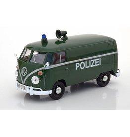 Volkswagen Volkswagen T1 (Type 2) Delivery Van Polizei - 1:24 - Motor Max